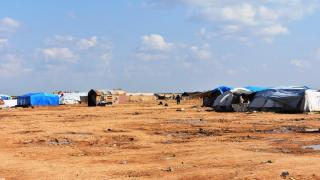 Ebu Xeşeb Kampı'nda 5 bin 391 kişi kalıyor