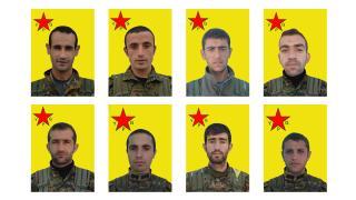 YPG, 2014'te şehit düşen savaşçıların kimliğini açıkladı